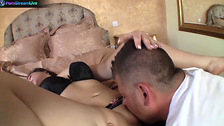 Sexy Drunk Akasha Cullen goes to town on cock