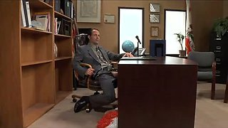 Horny Office clip with Pornstars,Blonde scenes
