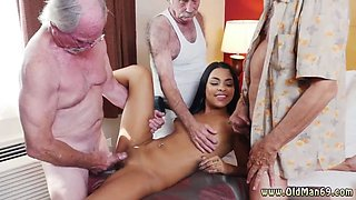 Bisexual orgy and 69 facial Staycation with a Latin Hottie