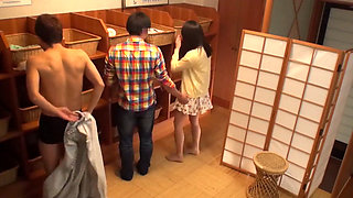 Japanese Onsen Cuckold Game