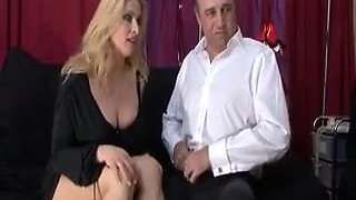 Wife brings a date home to meet her sissy husband