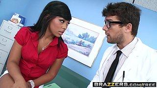 Brazzers - Doctor Adventures - Leilani Leeane and Ramon - Doc Loosen Up My Throat