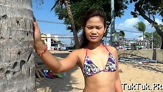 peachy thai girl in a hot action segment feature 1