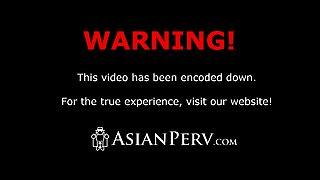 Petite Filipina babe Ashley gets POV fucked