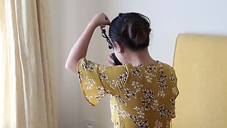 Chinese girl latex bondage challenge