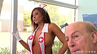 Madison Ivy breaks loose in the local hospital