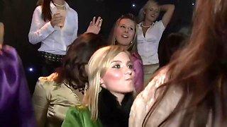 Satin Euro Ladies Sex Party PT1