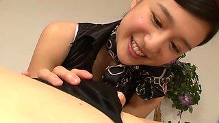 Fabulous Japanese girl Iori Kogawa in Exotic fingering, handjobs JAV scene