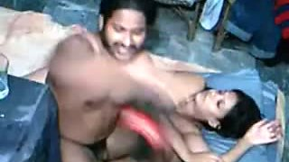 Indian girl fucked by 2 guys in hostel