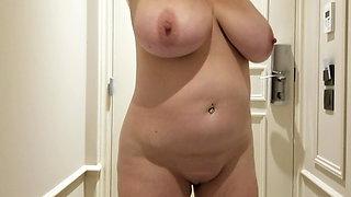 Lateshay bald pussy and big tits