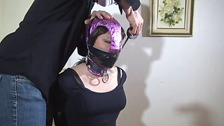 Vivian panty hooded and objectified