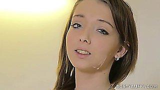 Lucie Wild cumshot compilation