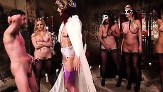 Hot Dominas Vs Slave Boy