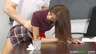 Presley Dawson Is Fucked By Her Gym Teacher