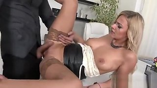 Blown Away Doll In Underwear Is Geeting Pissed On And Plowed