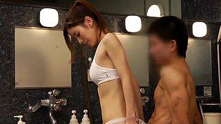Azusa Maki, Yuria Ashina, Asami Nanase, Kurumi Ohashi in Unseen Sauna Lady part 1.1
