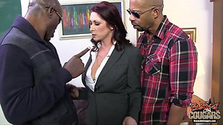 Milf DPed by two BBCs
