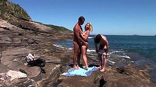 Crazy pornstar Chloe Delaure in amazing blonde, cumshots porn movie