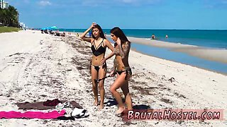 Russian girl brutal gangbang Excited young tourists Felicity Feline and Jade Jantzen are