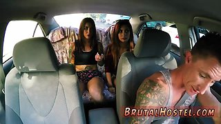 Extreme brutal bondage and blonde anal toy Excited young tourists Felicity Feline and
