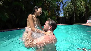 Riding a fat pecker is the only thing that makes Vina Sky happy