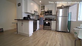 Horny MILF Comes Home Drunk and Stepson Helps Her Get Undressed
