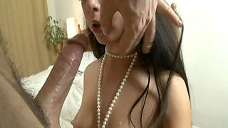 HAIRY FOREIGN BRIDE FUCKS A STRANGER FOR A CREAM PIE