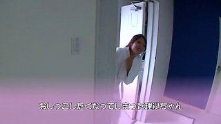 Amazing Japanese slut Risa Kotani in Crazy Fingering, Cunnilingus JAV scene