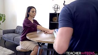 I ve Seen You Look At My Tits I m Not Trying To Milf Teacher Seduction