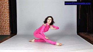 Flexyteen Violeta enjoys gymnastics