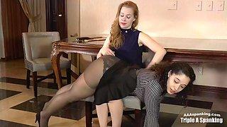 Hr office spanking