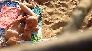 Undressed Beach - a voyeurs POV - amazing face close-ups