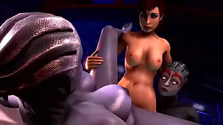 3d overwatch hardcore animation big dick sex
