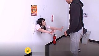 Asian student stuck on wall forced sucked and fucked Part.1 - [Gagne de l&#039_argent sur Internet : HOLYCASH.FR]