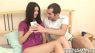 innocent teen in a hot scene