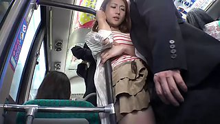 Japanese teen bus