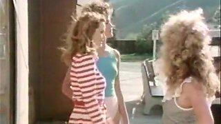 Horny masturbation retro video with Michael Warren and David Dukeham