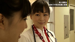 Japanese Novice Nurse's First SEX Therapy