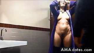 Sucking and Fucking In a Public Bathroom