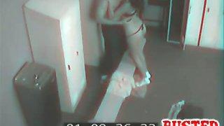 Gym Sex Spy Cam