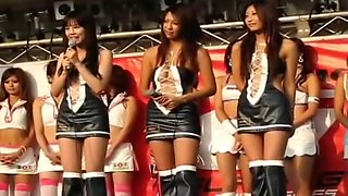 hot Japanese car show girls