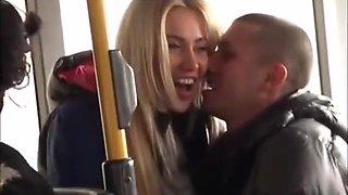 Sex on public bus