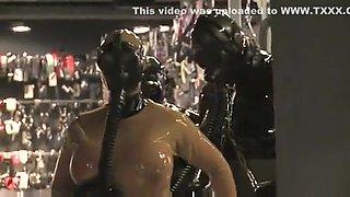 Horny amateur Lesbian, BDSM xxx clip