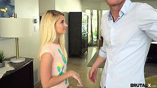 Brutal X - Riley Star - Fuck-punished by horny stepdad