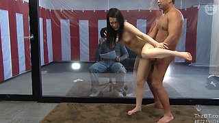 A Newlywed Wife Fucked By AV Actor In Front Of Her Husband