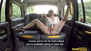 Ava Releases Her Hairy Bush - FakeTaxi