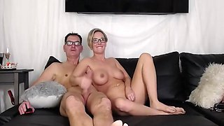 Family Couple Filming Their Sex On Webcam