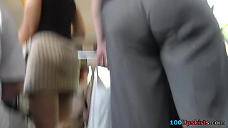 Very arousing mother i'd like to fuck upskirt episode