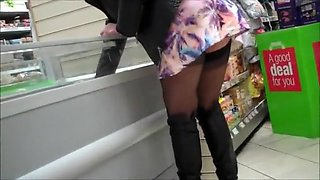 Crazy Homemade clip with Voyeur, Upskirt scenes