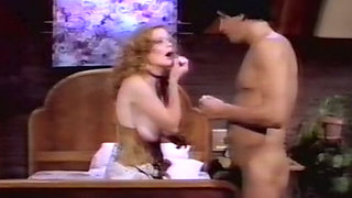 Busty and wild redhead white milf bouncing on a dick